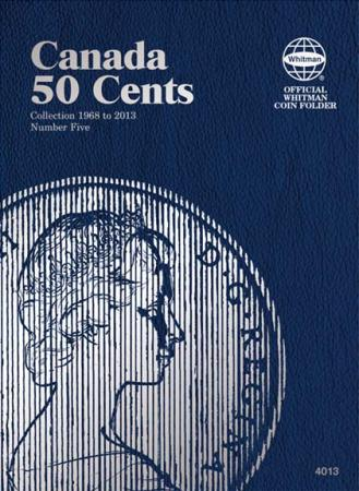 Whitman Folder 4013: Canadian 50 Cents Vol 5, 1968-2014