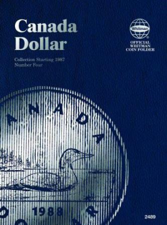 Whitman Folder 2489: Canadian Dollar Vol 4, 1987-2008