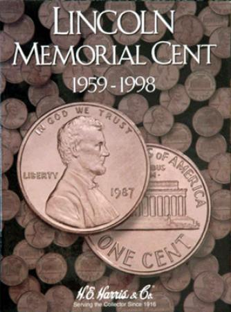 HE Harris Folder 2675: Lincoln Memorial Cents No. 1, 1959-1998