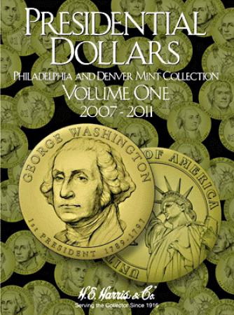 HE Harris Folder 2277: Presidential Dollars No. 1, 2007-2011