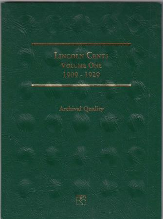 Littleton Folder LCF18: Lincoln Wheat Cents, 1909-1929