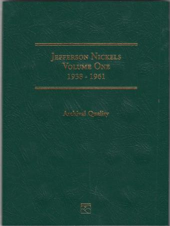 Littleton Folder LCF25: Jefferson Nickels No. 1, 1938-1961