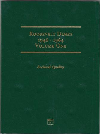 Littleton Folder LCF21: Roosevelt Dimes No. 1, 1946-1964