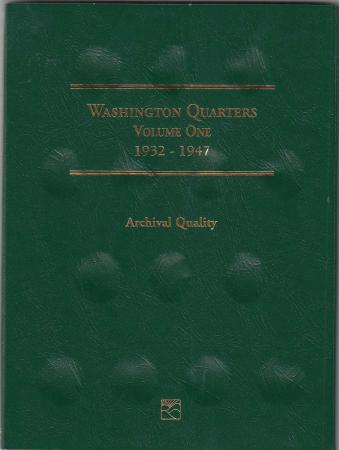 Littleton Folder LCF12: Washington Quarters No. 1, 1932-1947