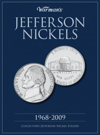 Warman's Folder Jefferson Nickels 1968-2009