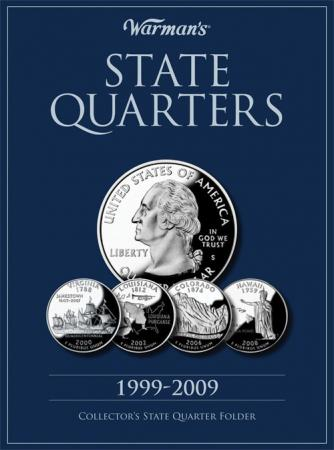 Warman's Folder State Quarters 1999-2009