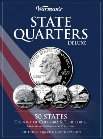 Warman's Deluxe Folder State Quarters 1999-2009