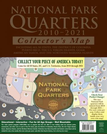 HE Harris National Park Quarters Traditional Collector Map