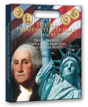 Whitman Deluxe Presidential Dollar Coin Set Travel Archive