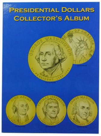 MCC Presidential Dollar Date Set Folder