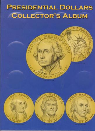 MCC Presidential Dollar Deluxe Folder