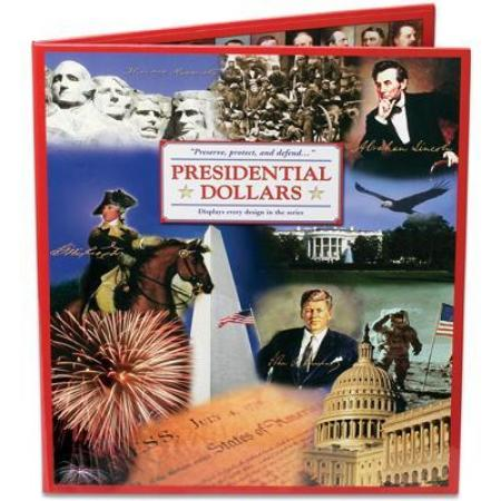 Littleton Folder Presidential Dollars Deluxe Presentation