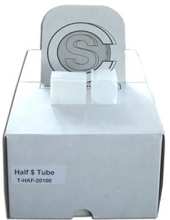 Coin Safe Square Tubes, Half Dollar Size