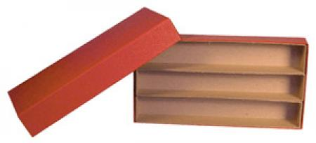 Triple Row 1.5x1.5 Box (10 inch) -- Red