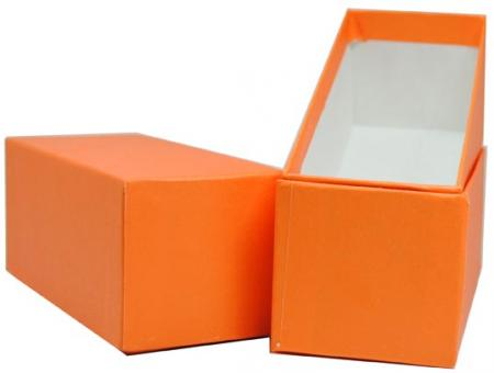 Color Coded Single Row Mini 2x2 Box (Orange/Quarter)