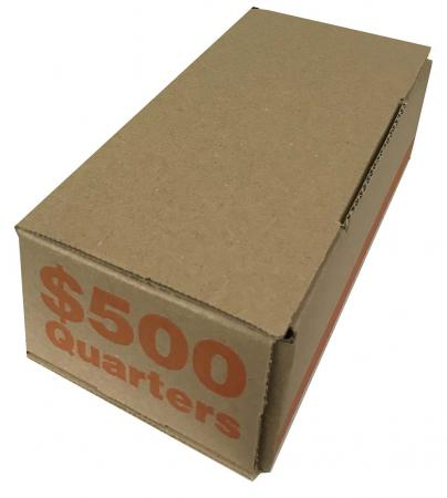 Coin Roll Storage/Shipping Boxes -- Quarter Size