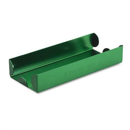 Aluminum Roll Tray -- Dimes -- Green