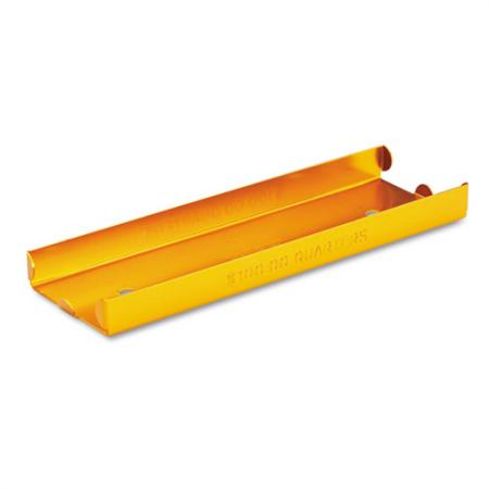 Aluminum Roll Tray -- Quarters -- Orange