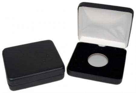 Air-Tite Black Leatherette Steel Box -- A Size