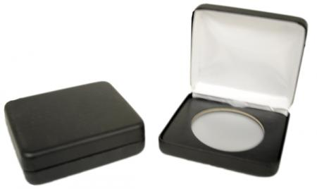 Air-Tite Black Leatherette Steel Box -- I Size