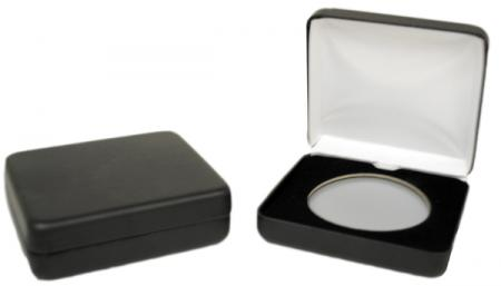 Air-Tite Black Leatherette Steel Box -- X Size