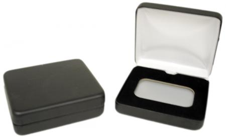 Air-Tite Black Leatherette Steel Box -- Bar Horizontal