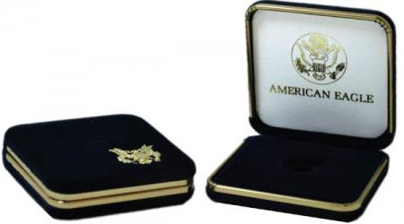 US Mint Presentation Case -- 1/4 oz Gold American Eagle