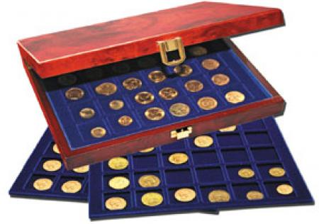 Burlwood Premium Coin Carrying Case for 2x2s