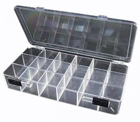 Plastic Organizer -- 18 Large Compartments