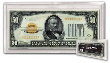 BCW Currency Snaplock - Large