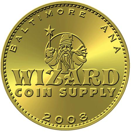 Wizard 2008 Baltimore ANA Commemorative Token