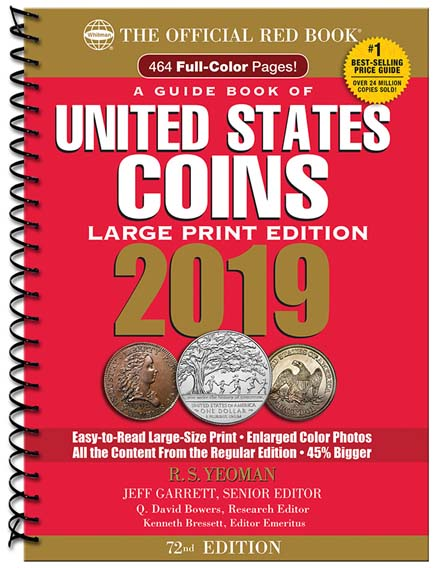 the official red book a guide book of united states coins 2019