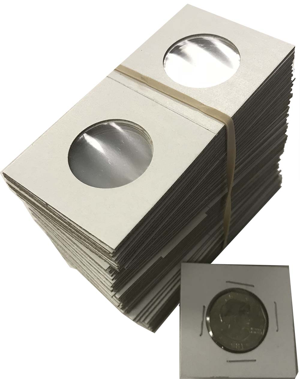2x2 Coin Flips Album Pages 20 Pockets 20 Cowens Vinyl Sheets For 3 Rings Binders