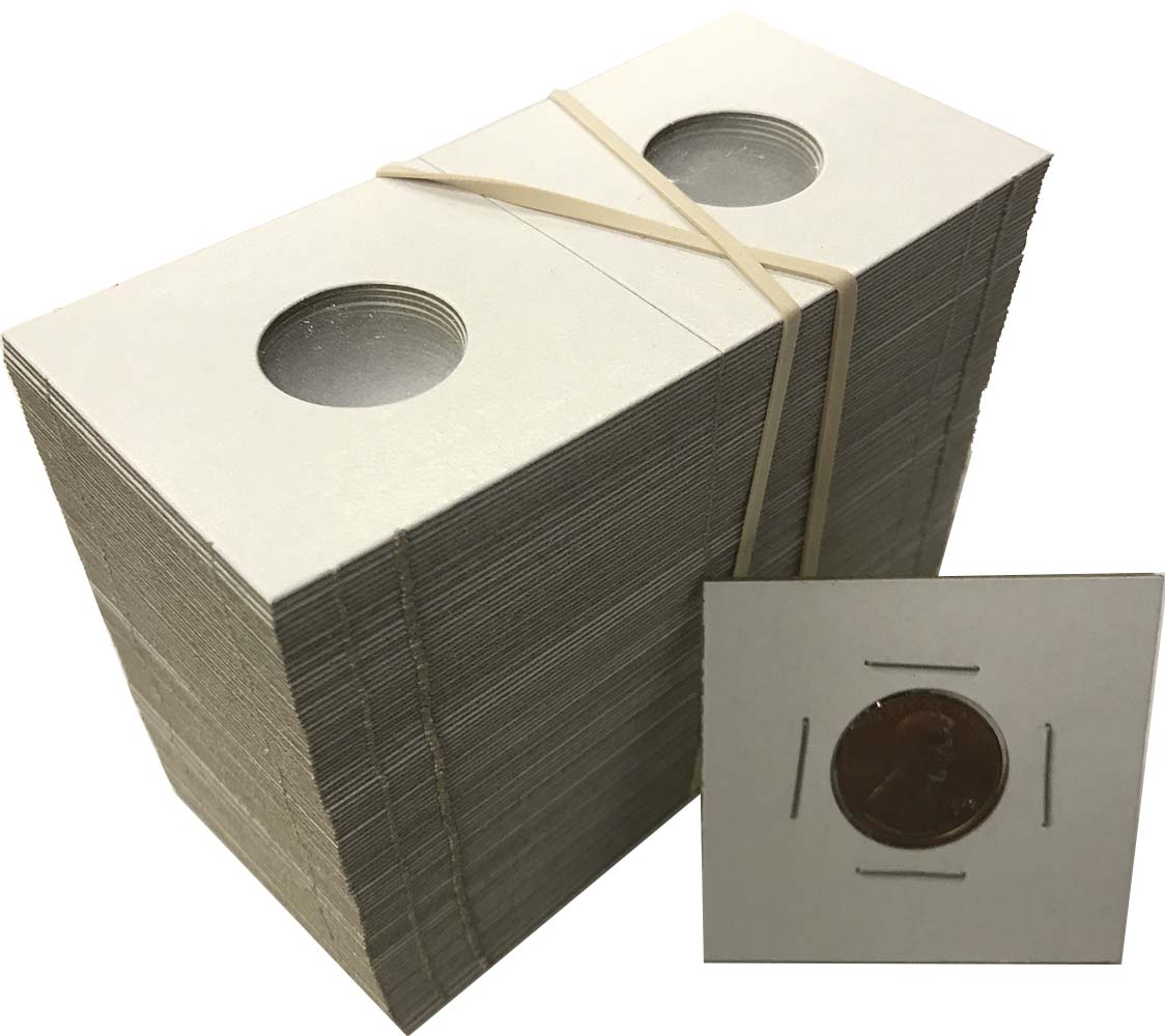 3 Whitman Plastic COIN STORAGE BOX for 2x2 Paper Flips /& Snap Holders 3-Boxes