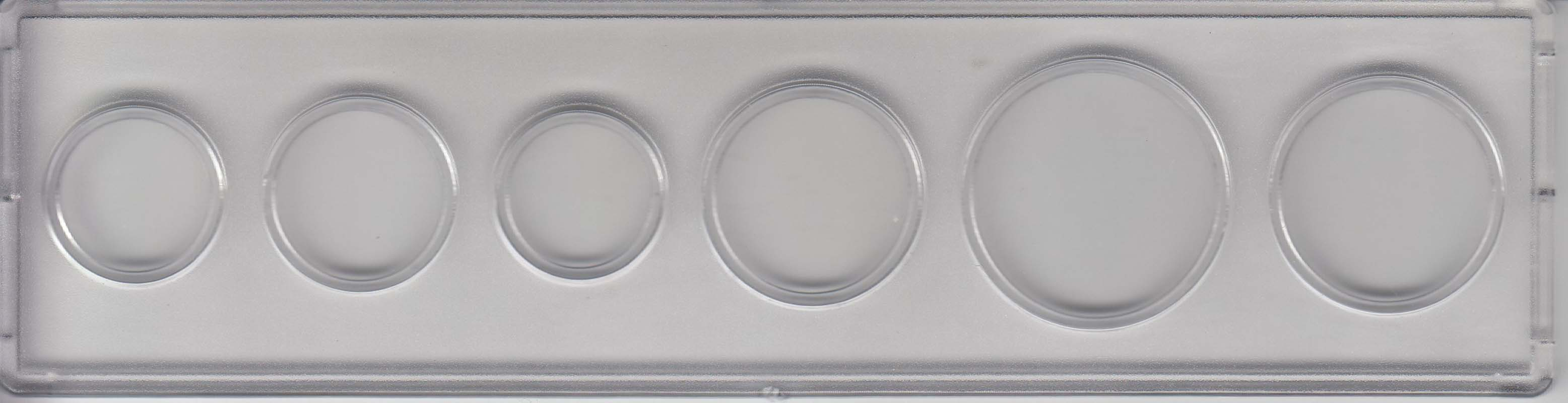Snaplocks For HALF DOLLAR Coins 25 Clear Plastic Holders 2x2 Square Capsules NEW