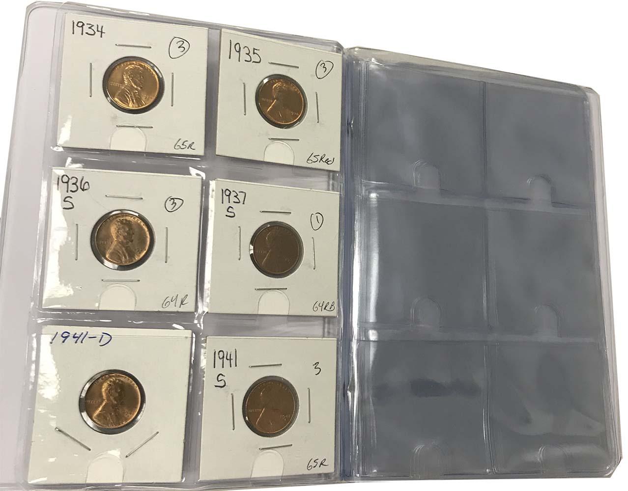 60 Pocket Harris Coin Album