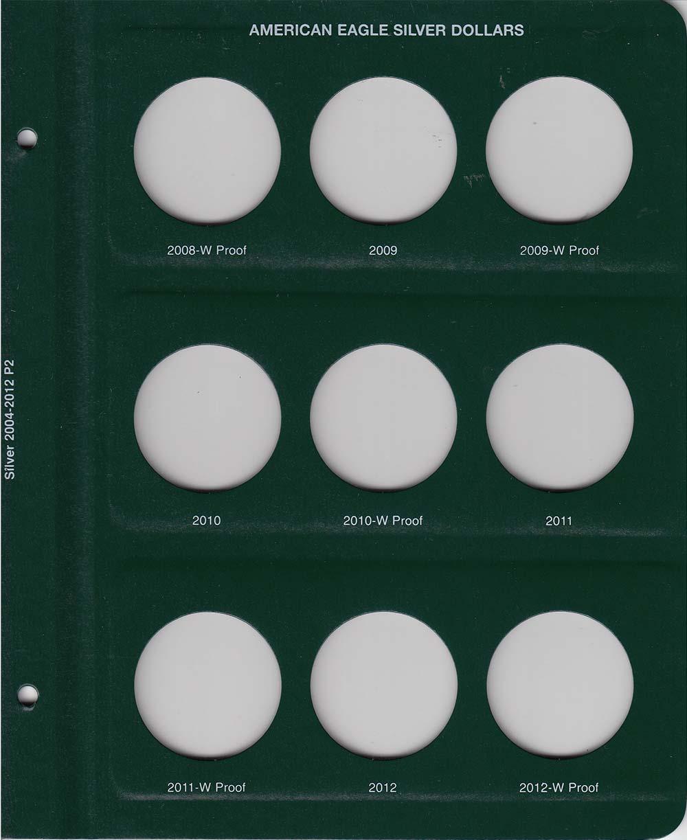 Intercept Shield Coin Album For 50 State Quarters 2004-2008 New Free Slipcase