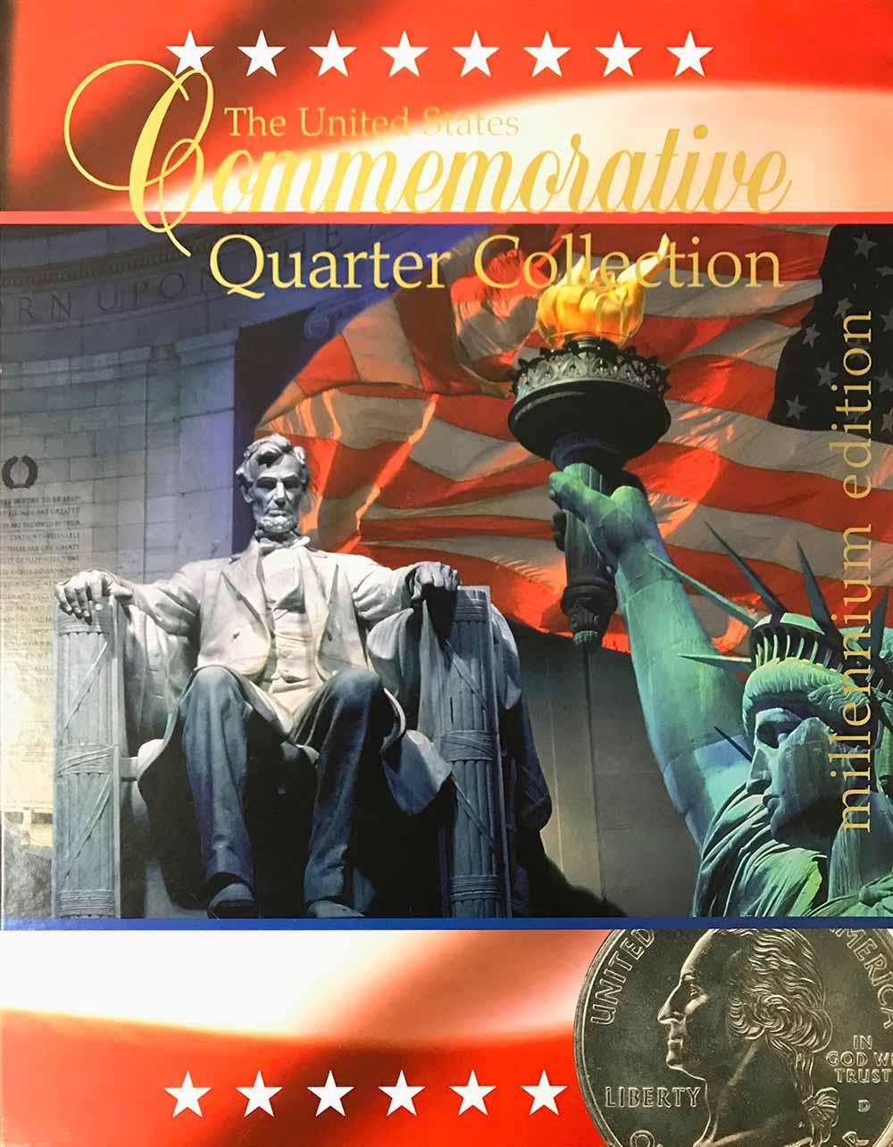 Us Commemorative Quarter Collection Map - Us-map-for-quarters