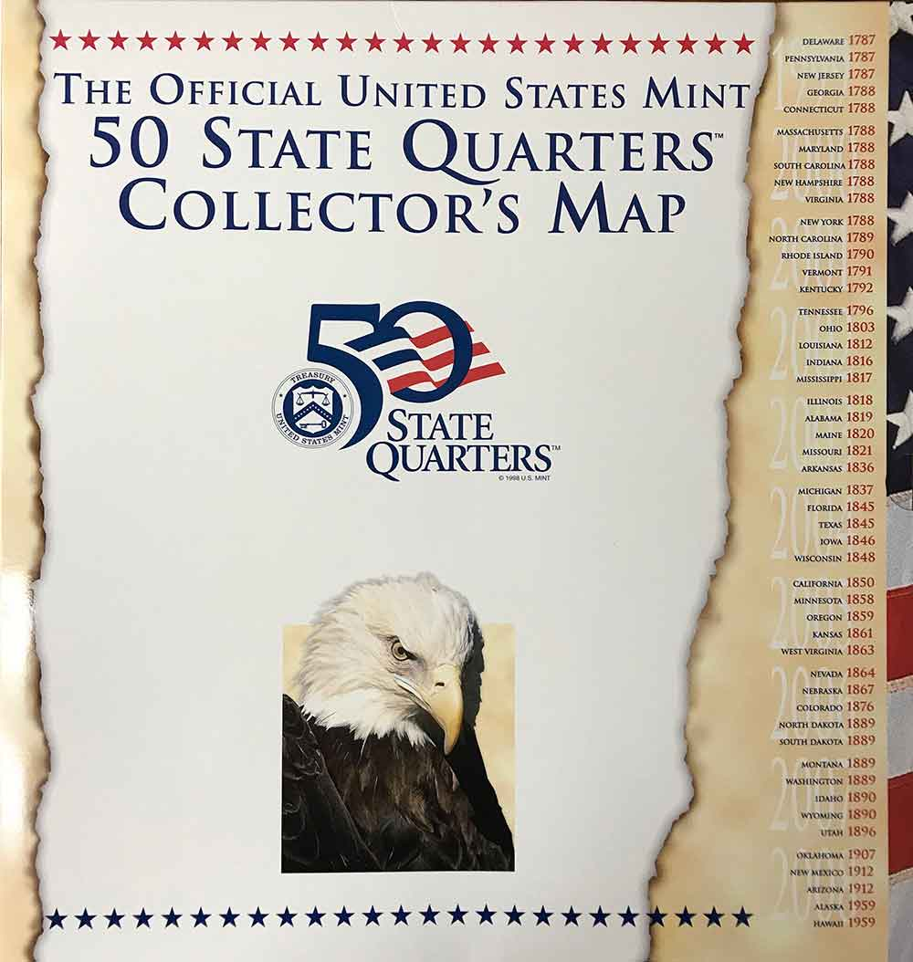 Official US Mint State Quarter Map on the commonwealth of massachusetts map, the province of manitoba map, the state wyoming map, the wichita map, the state washington map, montana state parks map, the country of spain map, the hill map, the university of montana map, the country of mexico map, the red river map, the state utah map, the hood map, usa map, the continental united states map, the harris map,