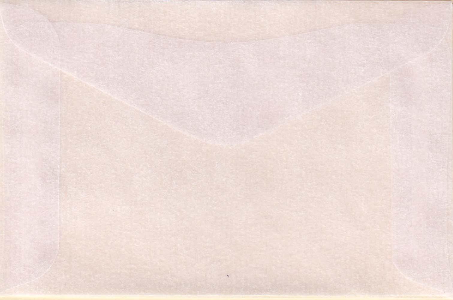 100 #2 Glassine Envelopes measuring 2 5//16 x 3 5//8
