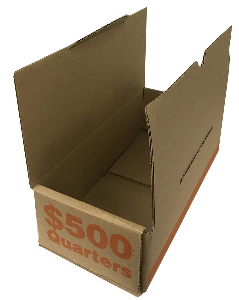 Guardhouse EACH BOX CAN HOLD UP TO 50 ROLLS QUARTER ROLL STORAGE BOX - NEW