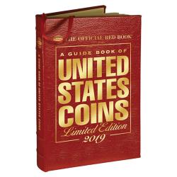 The Official Red Book: A Guide Book of United States Coins 2019 -- Leather Edition