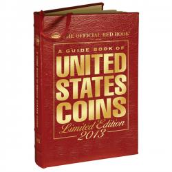 The Official Red Book: A Guide Book of United States Coins 2013 -- Leather Edition