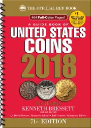 PRE-ORDER: The Official Red Book: A Guide Book of United States Coins 2018