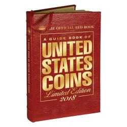 The Official Red Book: A Guide Book of United States Coins 2018 -- Leather Edition