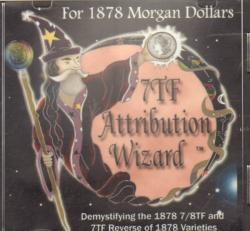1878 7TF Morgan Dollar Attribution Wizard CD