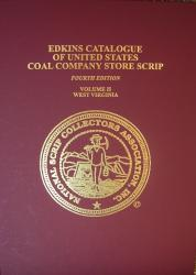 Edkins Catalogue of United States Coal Company Scrip Vol 2
