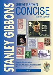 Stanley Gibbons 2019 Great Britain Concise Stamp Catalogue