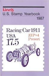 Linn's U. S. Stamp Yearbook 1987 (Paperback)