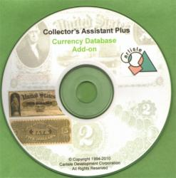 Collector's Assistant -- US Currency Database (add-on)
